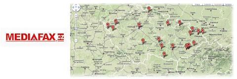 Mediafax má mapu událostí