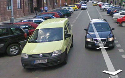 Nerozmazaná značka auta
